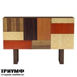 Итальянская мебель Morelato - Комод из разных пород дерева