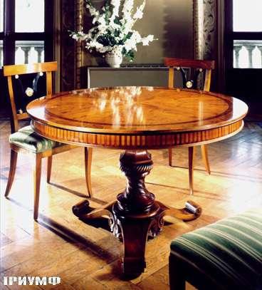 Итальянская мебель Colombo Mobili - Обеденный стол в имперском стиле арт. 206 кол. Corelli