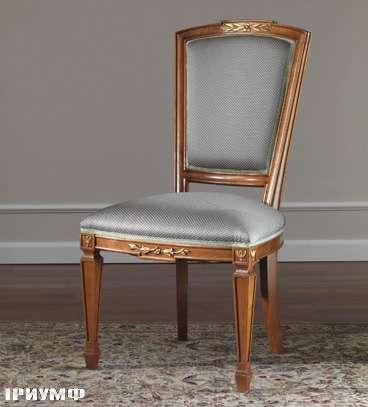 Итальянская мебель Colombo Mobili - Стул арт.286. S кол. Corelli вишня мягкая спинка