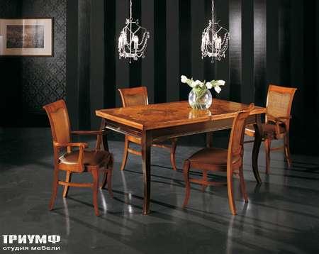 Итальянская мебель Interstyle - Moisson стол, стулья