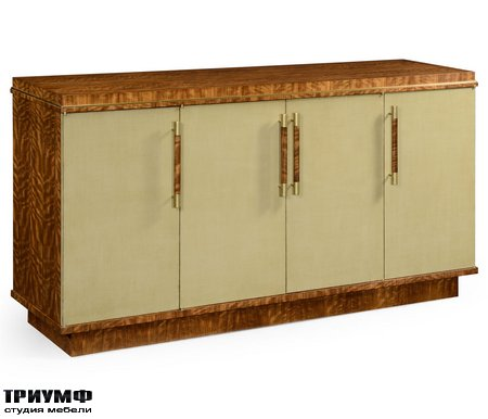 Американская мебель Jonathan Charles - Hyedua And Celedon Sideboard with Four Doors