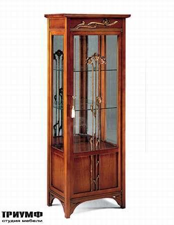 Итальянская мебель Medea - Витрина с цветами, арт. 939