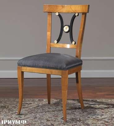 Итальянская мебель Colombo Mobili - Стул в стиле Бидермайер арт. 203.S кол. Corelli