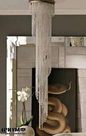 Итальянская мебель Dolfi - хрустальная люстра