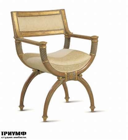 Итальянская мебель Chelini - Кресло египетское арт.332