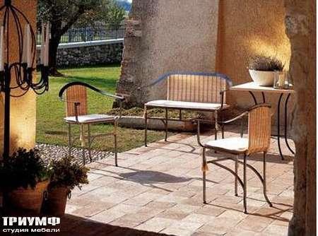 Итальянская мебель Rattan Wood - Композиции Moda