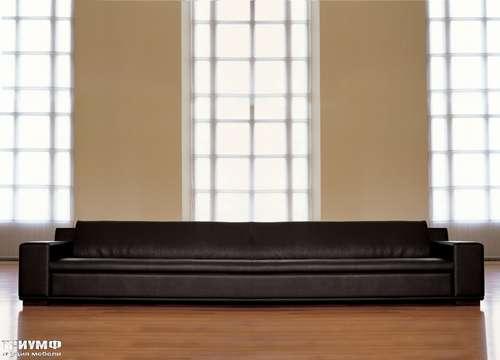 Итальянская мебель Mascheroni - Диван Kube натуральная кожа