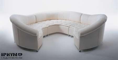 Итальянская мебель Giovannetti - Диван Galassia из модульных элементов
