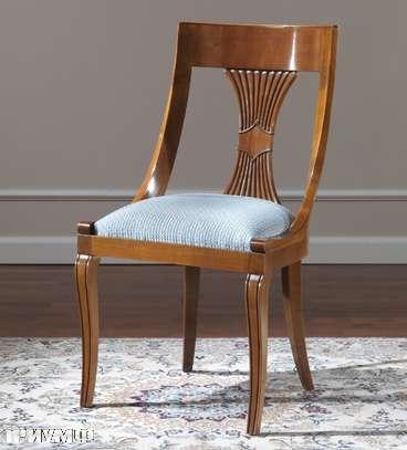 Итальянская мебель Colombo Mobili - Стул в стиле Бидермайер арт.238 кол. Verdi