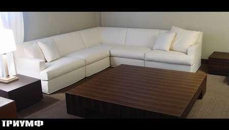 Итальянская мебель Meridiani - диван угловой Bogart