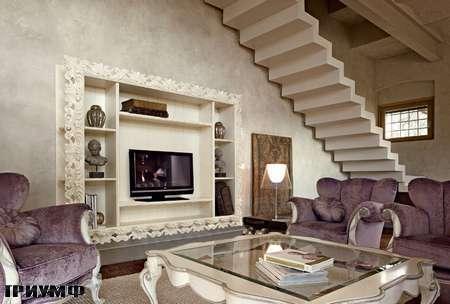 Итальянская мебель Volpi - стеллаж Angelica