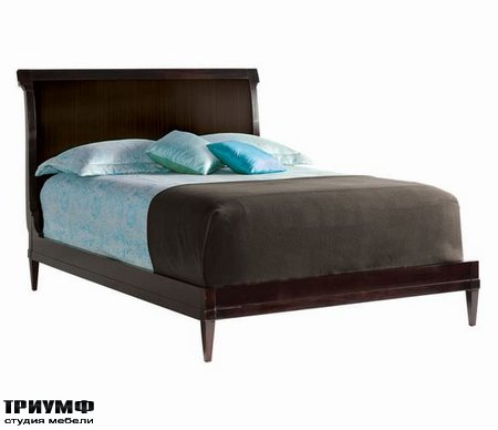 Американская мебель Council - Gable Platform Bed Queen