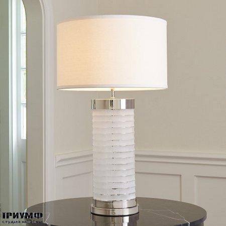 Американская мебель Globalviews - Chiseled Glass Lamp