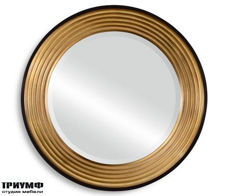 Американская мебель Jonathan Charles - Contemporary Circular Recessed Mirror