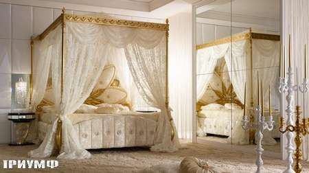 Итальянская мебель Grilli - Кровать с балдахином