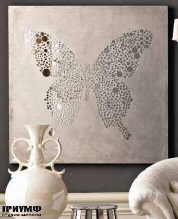 Итальянская мебель Dolfi - зеркало Batterfly