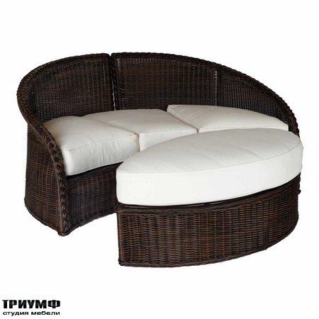 Американская мебель Summerclassics - Sedona Daybed Ottoman
