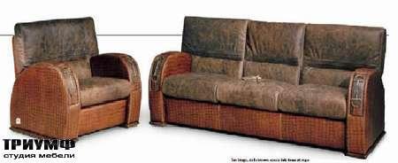 Итальянская мебель Formitalia - Диван и кресло Manhattan