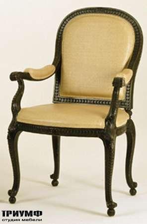 Итальянская мебель Chelini - Кресло посетителя в кабинет арт.540