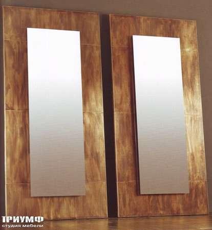 Итальянская мебель Rugiano - Зеркало с рамой под бронзу