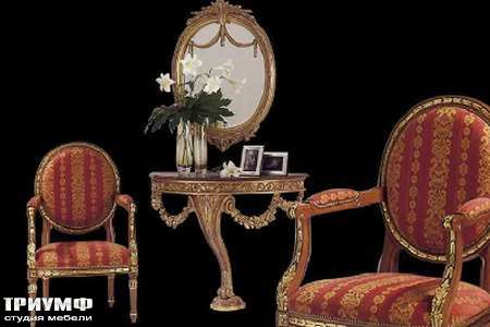 Итальянская мебель Ezio Bellotti - Консоль на одной ноге
