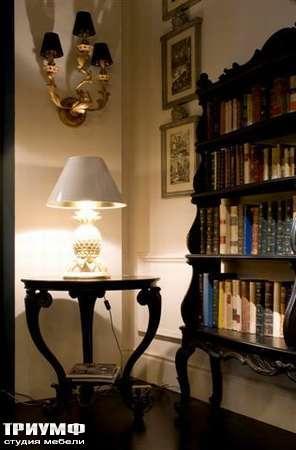 Итальянская мебель Chelini - Консоль и лампа