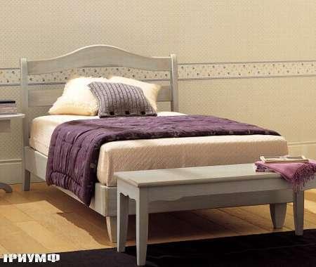 Итальянская мебель De Baggis - Кровать 20-531L