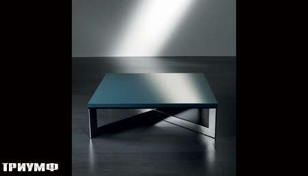 Итальянская мебель Meridiani - стол журнальный CROSS