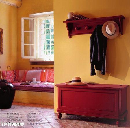 Итальянская мебель Tonin casa - прихожая в дереве