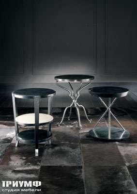 Итальянская мебель Smania - Стенка открытая под ТВ Eclectic Tre со светлой задней стенкой