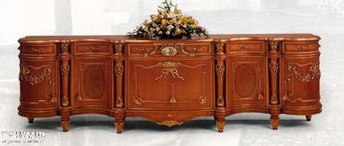 Итальянская мебель Citterio Fratelli - Прилавок Trianon с пялястрами и инкрустацией