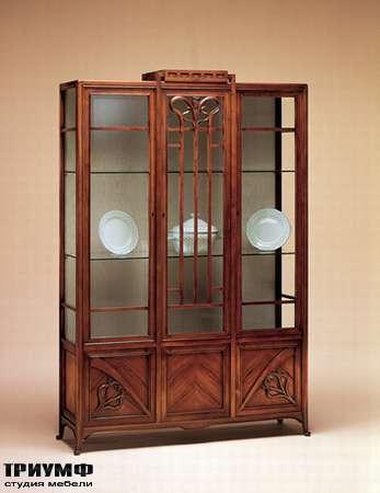 Итальянская мебель Medea - Витрина Liberty, с дверцами и выдвижным ящиком, арт. 973
