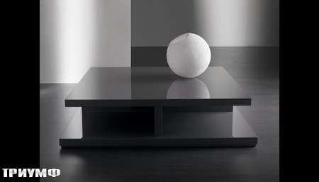 Итальянская мебель Meridiani - стол журнальный Clooney лак