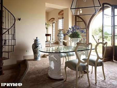 Итальянская мебель Volpi - стол Egio