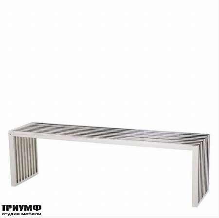 Голландская мебель Eichholtz - скамейка carlisle