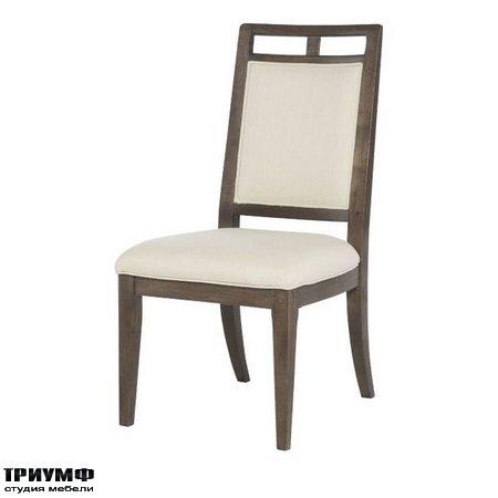 Американская мебель Hammary - Wood Back Side Chair