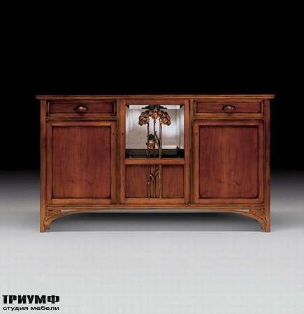 Итальянская мебель Medea - Комод-прилавок Flower с распашными дверцами и ящиками