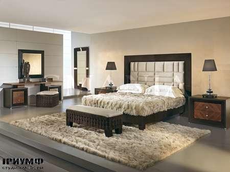 Итальянская мебель Smania - Кровать Caesar