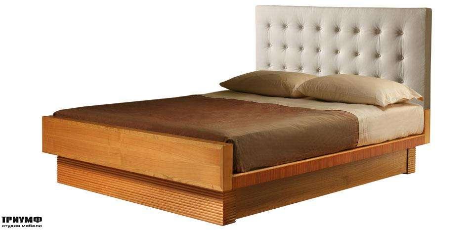 Итальянская мебель Morelato - Кровать с простеганным изголовьем