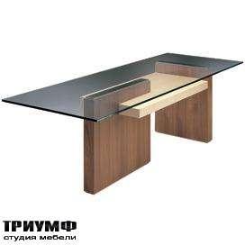 Итальянская мебель Morelato - Стол рабочий со стеклом Cartesia