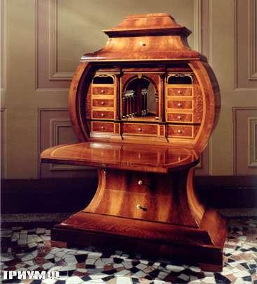 Итальянская мебель Colombo Mobili - Секретер Лира стиль Бидермайер арт.355 кол. Paradisi