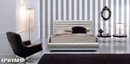 Итальянская мебель Valmori - кровать Mozart