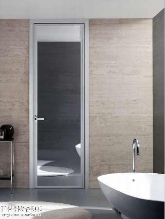 Итальянская мебель Longhi - Дверь распашная Cristal, зеркало