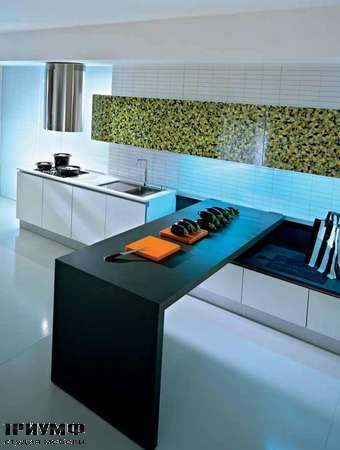 Кухня Q2System прямая с разделочным шкафом