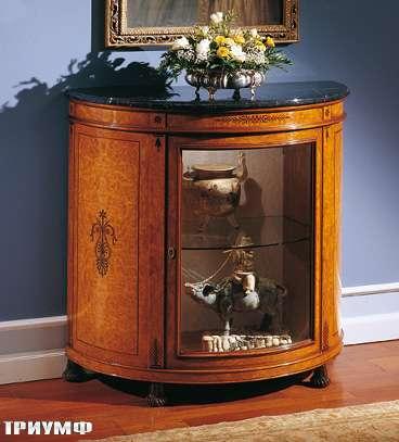 Итальянская мебель Colombo Mobili - Полувитрина стиль Карло X арт.293