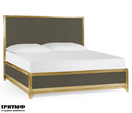 Американская мебель Jonathan Charles - Flannel & Gold UK Queen Bed