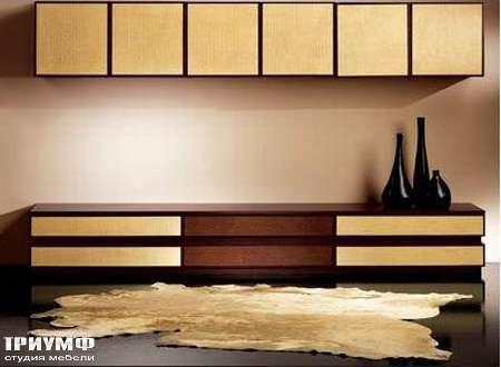 Итальянская мебель Rattan Wood - Комод Spot
