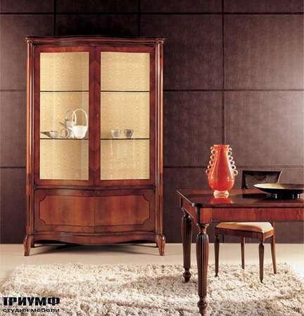Итальянская мебель Medea - Витрина с разноцветной инкрустацией, арт.263