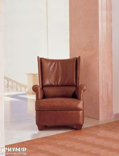 Итальянская мебель Mascheroni - Кресло Primaneve в коже