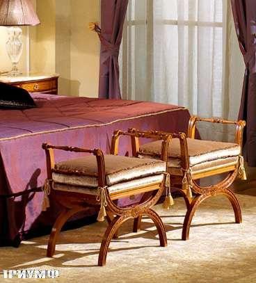 Итальянская мебель Colombo Mobili - Банкетка кол. Donizetti в неоклассическом стиле арт 270